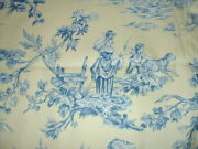 Mussie French Country Toile By Spectrum Home Interior Fabric 100 Cotton Bty