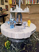 Deluxe Space Fantasy Freeze Chamber Platform Playset Perfect For 3 3/4 Figures