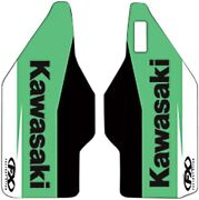 Factory Effex Lower Fork Guard Graphic Green 15-mil Vinyl Fork Guard Graphic Kit