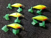 Luhr Jensen Speed Trap Lot 5 Including Pre-rapala Baits Hard To Find Colors