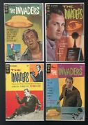 Wow Lot Of 4 1967 Invaders Complete Set Gold Key Comics Scarce Group Low Price