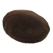 Hermes Hunting Hat Dark Brown 59 Womenand039s Accessories Authentic Vintage 02567