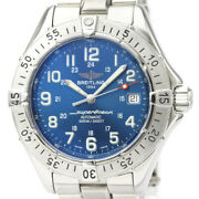 Polished Breitling Super Ocean Steel Automatic Mens Watch A17340 Bf530197