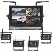 Top Dawg Digital Wireless Backup Camera System- 2 Cameras 9in Tft-lcd Display