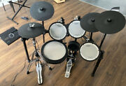 Roland Td17kvx Hi-hat Stand + Kick Pedal + Throne Included Electronic Drum Kit