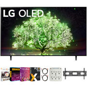 Lg 65 Inch A1 Series 4k Hdr Smart Tv With Ai Thinq 2021 + Movies Streaming Pack