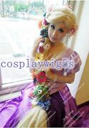 New Wig Rapunzel Tangled Golden Hair Special Thick Twist Braid Party Wigs