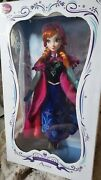 Frozen Anna Collector Doll Le 5000 First Original Release Edition
