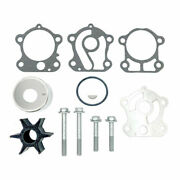 Water Pump Impeller Kit For Yamaha 2 Stroke Outboard 692-w0078-02-00 18-3370