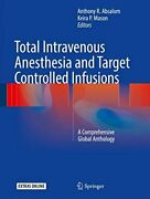 Total Intravenous Anesthesia And Target Control, Absalom, Mason-