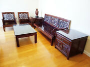 Hand-carved Authentic Chinese-style Living Room Set