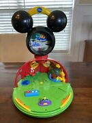 Disney Mickey Mouse Clubhouse Fold Up Playset Lights Sounds The Original Rare