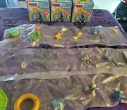 Sonic The Hedgehog Craftables Mystery Figure Scene Lotmetalsonicringsonictail