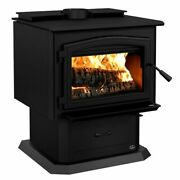 Osburn 3500 Wood Stove W/ Blower Large 110000 Btus Epa Approved Free Shipping