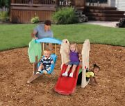 Little Tikes Hide And Seek Climber And Swing Toy Outdoor Play Set Playground