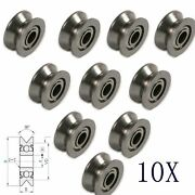Ball Bearings V Groove Pulley Bearing Used In Rail Track Linear 10pcs 624vv