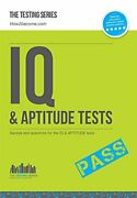 Iq And Aptitude Tests Numerical Ability, Verbal Reasoning, Spatial Tests, Diag