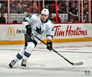 Timo Meier San Jose Sharks Unsigned White Jersey Skating 20 X 24 Photo