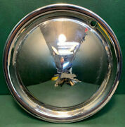 Vintage Namsco Early 60and039s 13 Cone-style Moon Hubcap Airstream