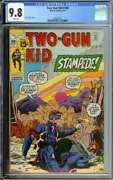 Two-gun Kid 100 Cgc 9.8 White Pages // Single Highest Graded Cgc Marvel 1971