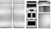 Monogram Kitchen Package With 48 Gas Rangetop 36 All Refrigerator And Freezer
