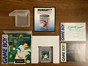 Complete Jimmy Connors Tennis Game Boy Cib '93 Authentic See Photos Very Rare