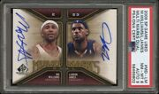 Lebron James Mo Williams 2009-10 Upper Deck Sp Game Used Multi Marks Dual Pop 1