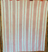 Bars Or Strippy--19th Century--lovely--no Issues--dainty--nice Large Size--bin