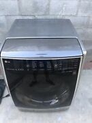 Lg All In One Unit Washer And Dryer Ventless 120v Spanish Menu
