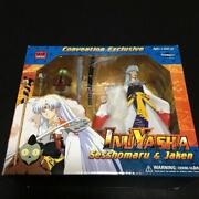 Toynami Inuyasha Sesshomaru And Jaken Convention Exclusive Figure Doll Statue