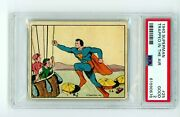 1940 Superman Gum Inc. 25 Trapped In The Air Psa 2 R145 Rc