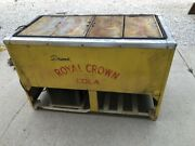 Vintage 1940's-1950's Royal Crown Cola And Nehi Chest Cooler Soda Pop Machine Old