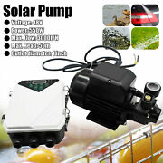 Dc Solar Water Pump Surface Water Transfer 550w 3000l/h + Mppt Controller