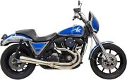 Bassani Road Rage 3-step 2-into-1 Exhaust System Raw Tapered 1fxr2ss 1800-2230