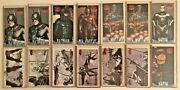 Batman And Robin Movie Widevision 1997 Profiles/storyboards Lot Of 14