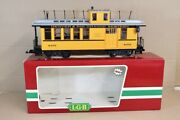 Lgb 4175 G Gauge Denver And Rio Grande Dandrgw Baggage And Express Caboose Boxed Pdbp