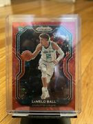 2020-21 Panini Prizm 278 Lamelo Ball Rc Rookie Red Fast Break Prizms 96/125