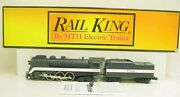 Mth 30-1147-1 Wabash 4-6-4 Streamlined Hudson Steam Locomotive And Tender With Ps
