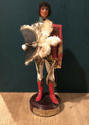"""A Very Fine And Rare Model Of Marshal Murat. Wood And Plaster Construction. 9"""" High"""