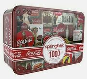 Coca Cola 1000 Piece Jigsaw Puzzle Tins Signs Special Edition By Springbok New