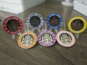 Lot Of 7 Nypd Guns And Coffee Police New York City Challenge Coin