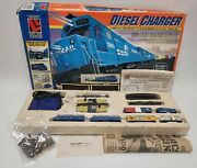 Life Like Trains Diesel Charger N Scale Electric Train Set 7558 Vintage Tested