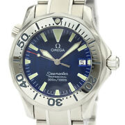 Polished Omega Seamaster Professional 300m Steel Mid Size Watch 2263.80 Bf531328
