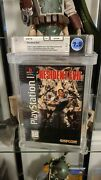Resident Evil Playstation Ps1 1996 Debut Video Game Longbox Wata Graded 7.0