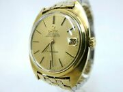 Excellent+++ Omega Constellation Menand039s Gold Plated Case Watch Cal.564 B