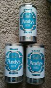 3 Blue Andy's Minnesota S/s Beer Cans Schell Brewing Co. New Ulm Mn