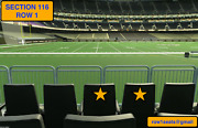 2 Front Row New York Giants At New Orleans Saints Tickets Section 116 Row 1