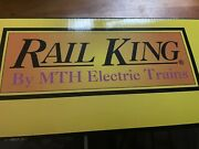 Mth Rail King Sinclair Operating Gas Station W/57 Chevy 30-9101 New Never Open