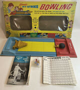 Kennerandrsquos Jet-strike Bowling Game 1966 Complete Rare