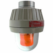 Federal Signal 27xl-120-240a-mod Explosion-proof Led Warning Light Amber Lens